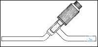 Durchgang-Hochvakuum-Ventil Witaflo 10mm