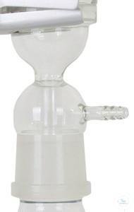 Saugkappe, Borosilikatglas für VF3
