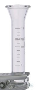 Trichter, 15ml, Borosilikatglas für VF5/8