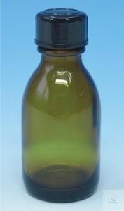 Reagenzienflaschen mit Schraubkappe Enghals Braunglas