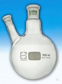 2-Hals-Kolben 2000 ml SH 19/26 schräg