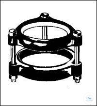 Support for flat flange 90 mm