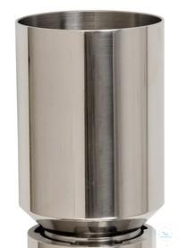 Edelstahl-Trichter 300ml, mit Spin-lock Verbindung