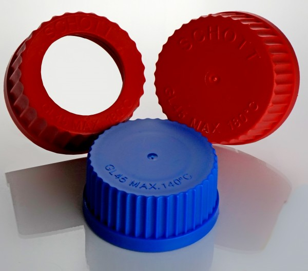 Screw caps thread (top closed or with bore)