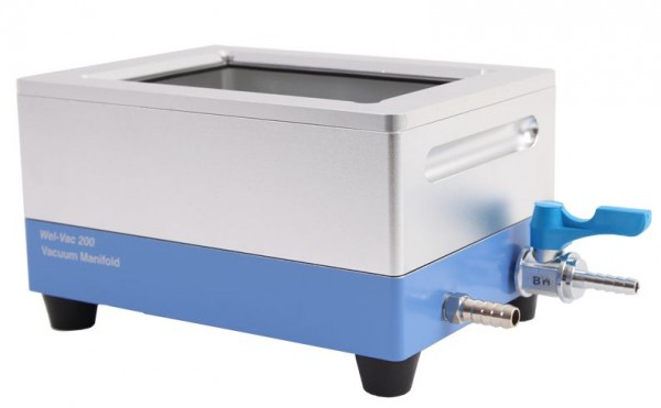 Mikrotestplattenverteiler / -manifold WelVac 200 mit Zubehör