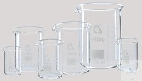 Set of beakers low form with spout Maxi